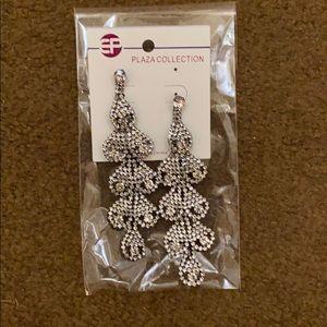 Rhinestone dress earrings